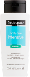 Hidratante Corporal Neutrogena Body Care Intensive Comfort 200mL
