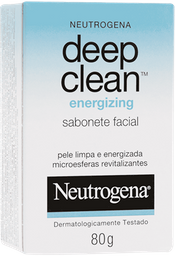 Sabonete Neutrogena Deep Clean Energizing 80g