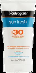 Protetor Solar Neutrogena Loção Sun Fresh Fps 30 120 mL