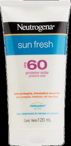 Protetor Solar Neutrogena Loção Sun Fresh Fps 60 120 mL