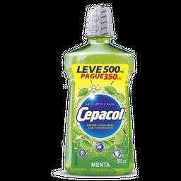 Cepacol Menta Leve 500 mL Pague 350 mL
