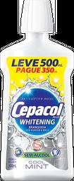 Antisséptico Bucal Cepacol Plus Whitening Leve 500 Pague 350mL