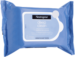 Demaquilante NEUTROGENA® DEEP CLEAN® 25 Unds