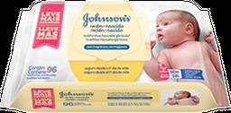 Lenços Umedecidos Johnson's Baby Recém-Nascido Sem Fragrância