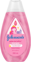 Shampoo Johnsons Baby Gotas De Brilho 200 mL