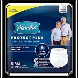Roupa Intima PLENITUD Protect Plus P/M - 8 unidades