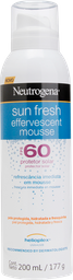 Protetor Solar Neutrogena Effervescent Mousse Fps60 200 mL