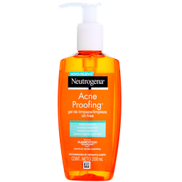 Gel De Limpeza Neutrogena Acne Proofing 200 mL