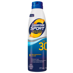 Protetor Solar Coppertone Sport Fps50 Spray 177 mL