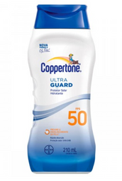 Protetor Solar Coppertone Ultraguard Fps50 Loçao 210ml