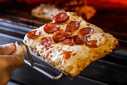 Pizza Calabresa Fatia Quadrada