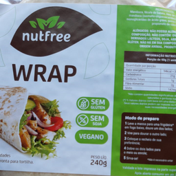 Wrap Vegano Nutfree 240g