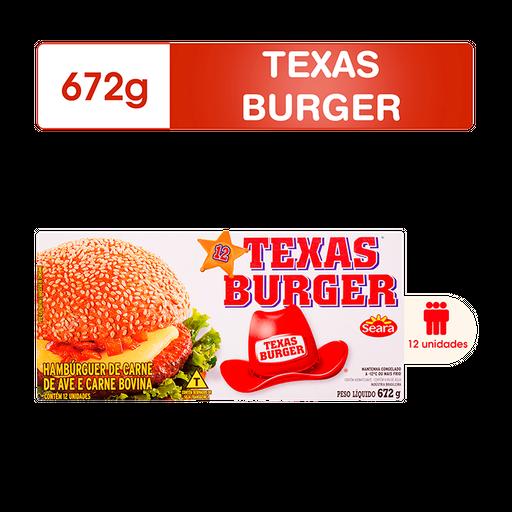 Seara Hambúrguer Texasburger