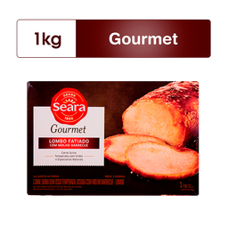 Lombo Seara Gourmet Barbecue 1Kg