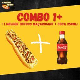 1 Hot Dog 30 Cm Maça .+ Bebida 250 ml