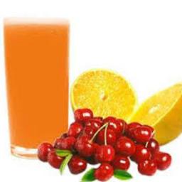 Suco laranja com acerola