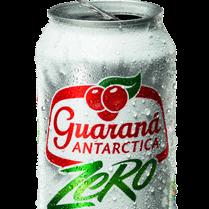 Guaraná Antarctica Zero Lata - 350ml