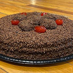 Torta brigadeiro - 10 pessoas