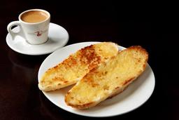 Baguete Semi-Italiana com Manteiga na Chapa