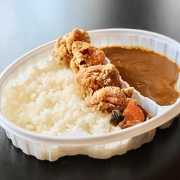 Curry com Kara-Ague(唐揚げカレー)