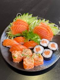 Combinado salmão - 1 pessoa (18 unidades)