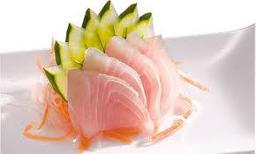 Sashimis de Peixe Branco - 10 Unidades