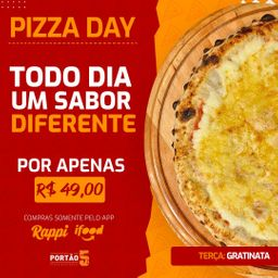 Pizza Day Frango com Catupiry