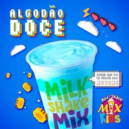 Milk Shake De Algodão Doce