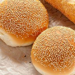 Pão de hambúrguer c/ gergerlim