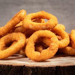 Porção de Onion Rings 500g e 2 Molhos