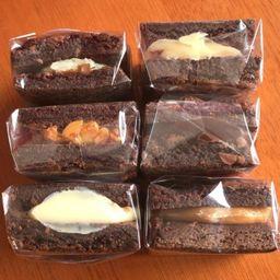Brownie Recheado Beijinho
