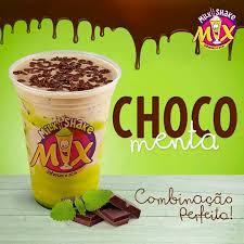 Milk Shake De Chocomenta