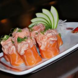 Jhou salmão (5 unidades)