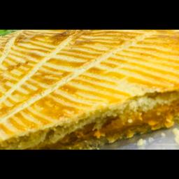 Torta Salgada de Frango - Fatia