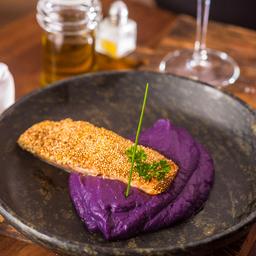 Salmone Con Quinoa