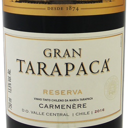 Vinho Gran Tarapacá Carmenere 750ml