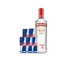 Combo Smirnoff Red Bull