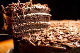 Torta Chocolate 1389 - Fatia