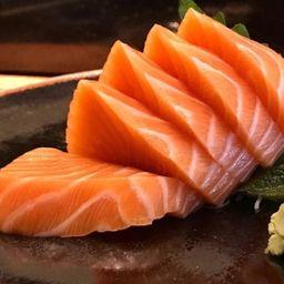 Sashimi Salmão Corte Oriental