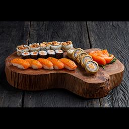 Monte o seu Sushi Five com Sashimi - 25 Peças