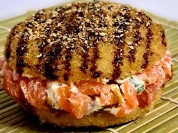 Sushi Burguer de Salmão