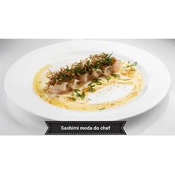 Sashimi à moda do Chef