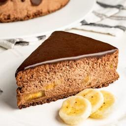 Torta Chocolate com Banana (Zero Açucar)