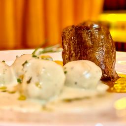 """Chateaubriand et Gnocchi Sauce 4 Fromage à """"Luciana Peixoto"""""""