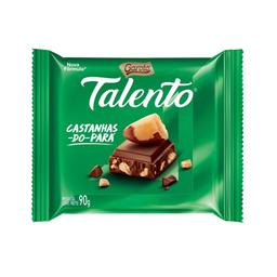 Chocolate Talento com Castanha do Pará 90g
