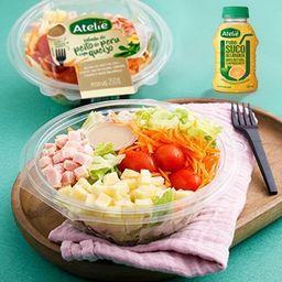 Combo de Salada Peito de Peru e Suco