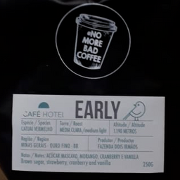 Café Hotel Early Bird - Em Graos