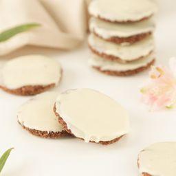 Cookies de Cacau com Chocolate Branco