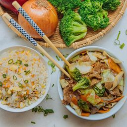 Carne C/ Legumes (chop Suey) - Indv