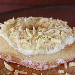 Mini Donuts de Chocolate Branco